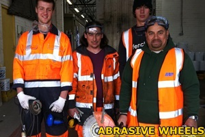 Abrasive wheels training with W&S training