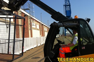 Telehandler training with W&S training